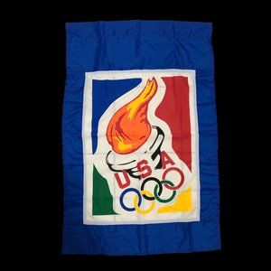 NWOT USA Olympic Team Torch Flag